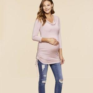 Jessica Simpson Maternity Side Tie Tunic